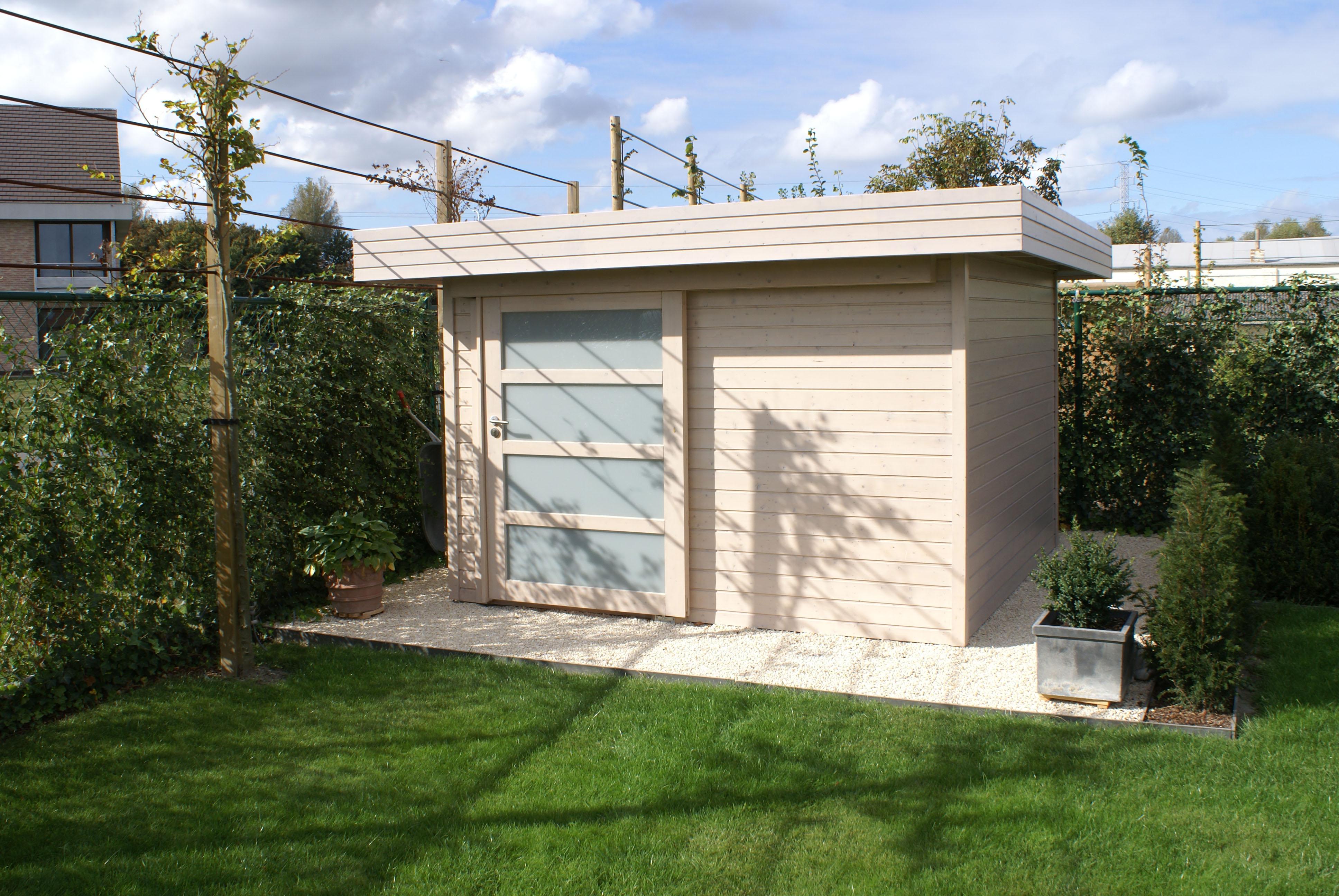 Abri De Jardin Moderne Lasur  # Abris De Jardin Moderne