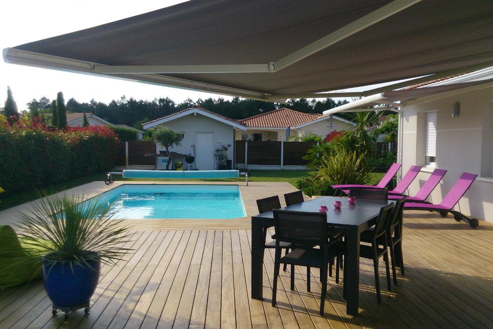 Terrasse Kebony de piscine