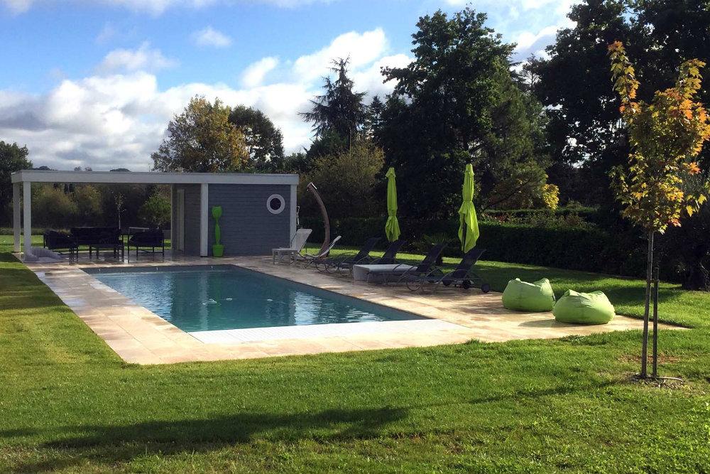 pool-house Moduland piscine
